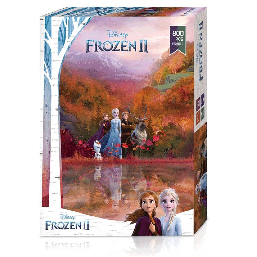 겨울왕국2 붉게 물든 숲 직소퍼즐 800조각