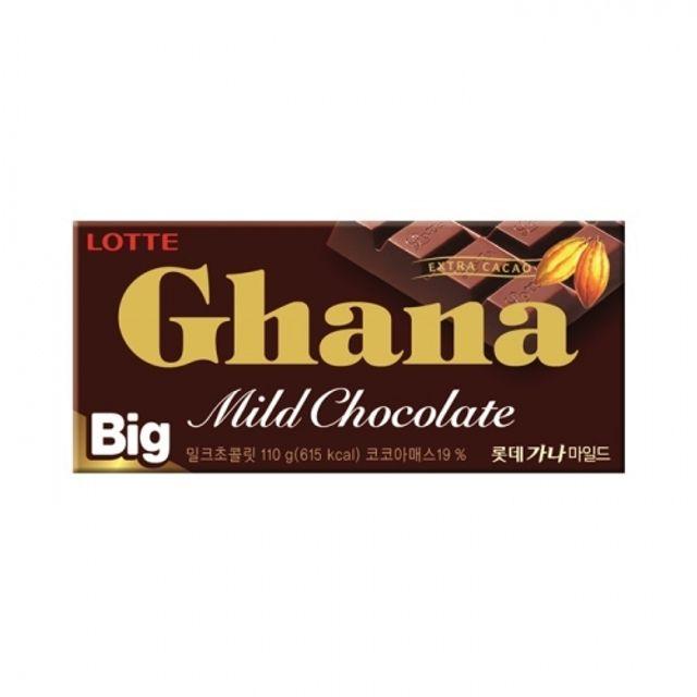 가나 마일드 초콜렛 빅 110g 32개 대형 사이즈 간식