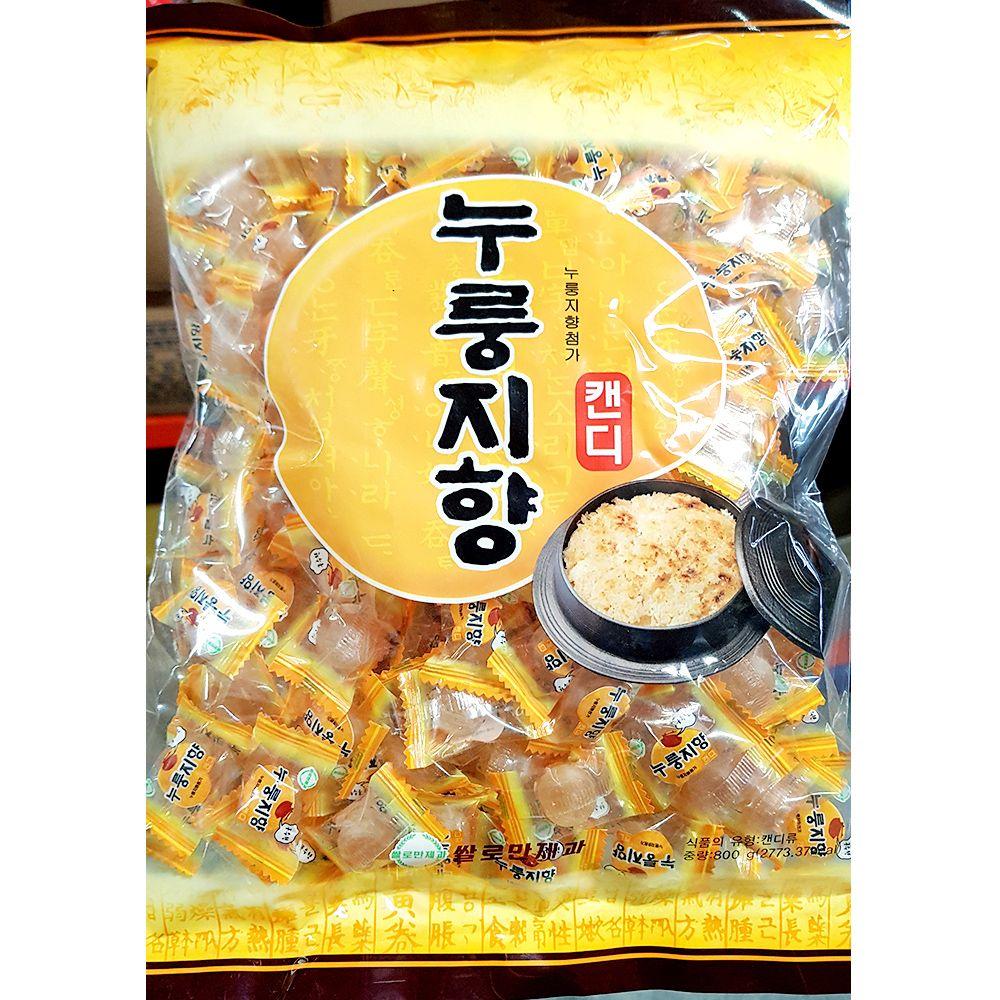 식당용 업소용 식재료 누룽지사탕(쌀로만 800g)X3