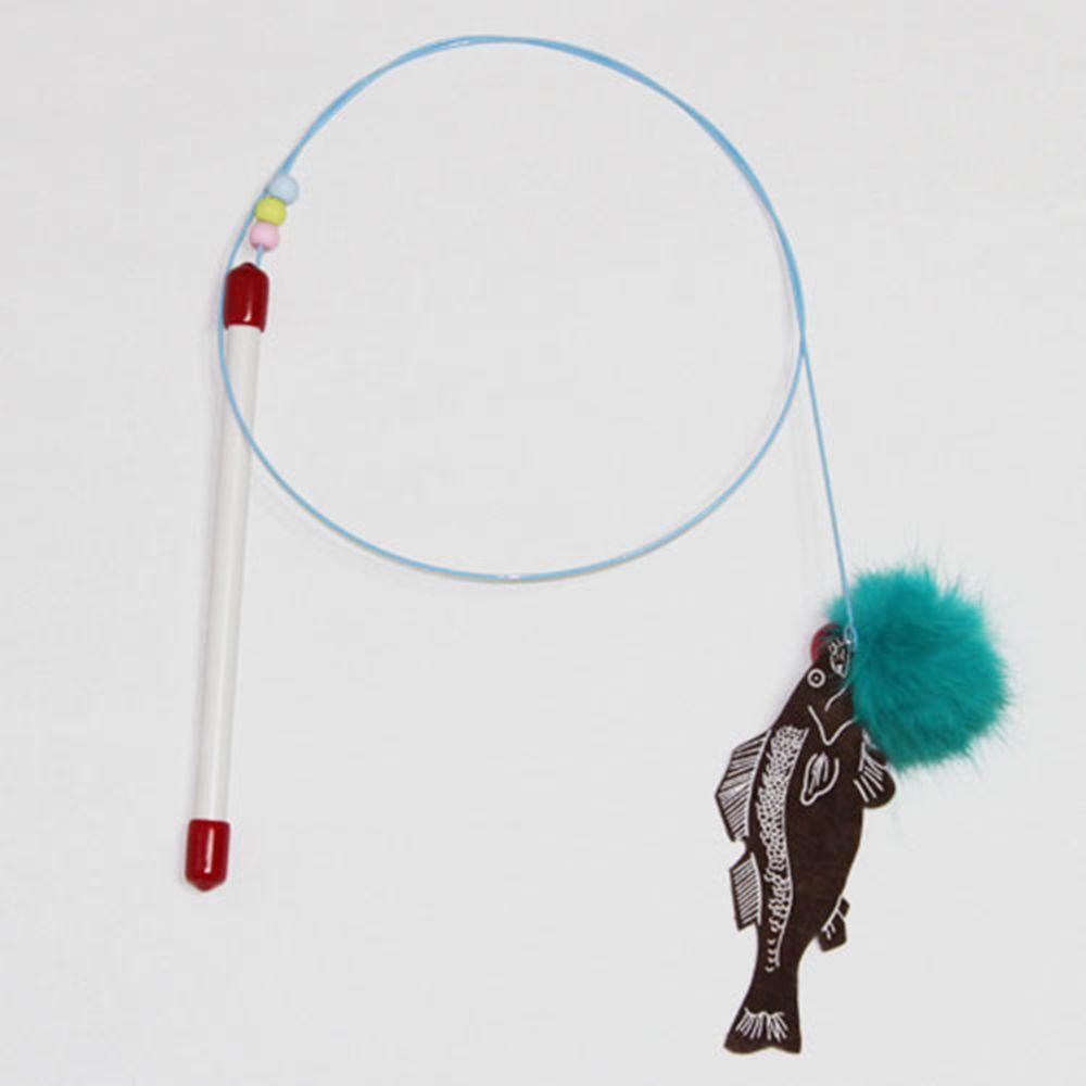 캣티클러 물고기 고양이 장난감 색상랜덤