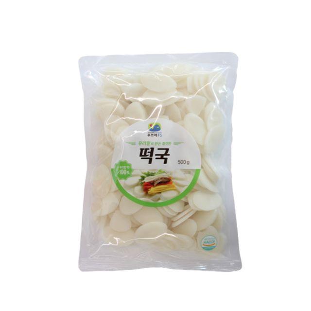 우리쌀로 만든 쫄깃한 떡국떡 500g