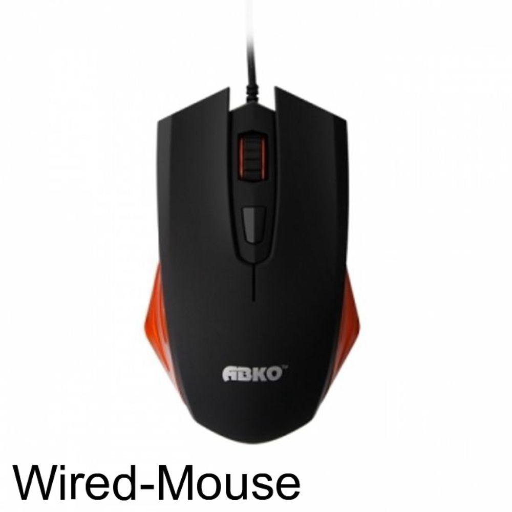 PC용품list ABKO MX1100 USB 유선 마우스