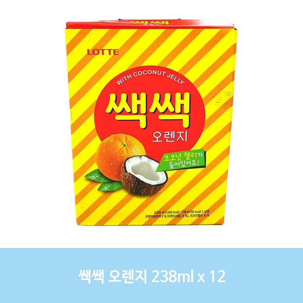 CS29B 쌕쌕 오렌지 238ml 12캔