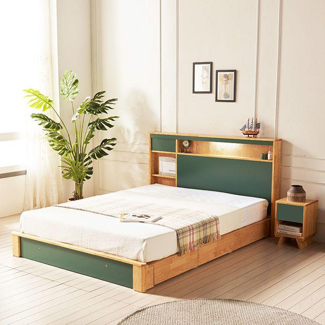 수납형퀸침대 Q침대 퀸침대 서랍침대 수납침대 침대