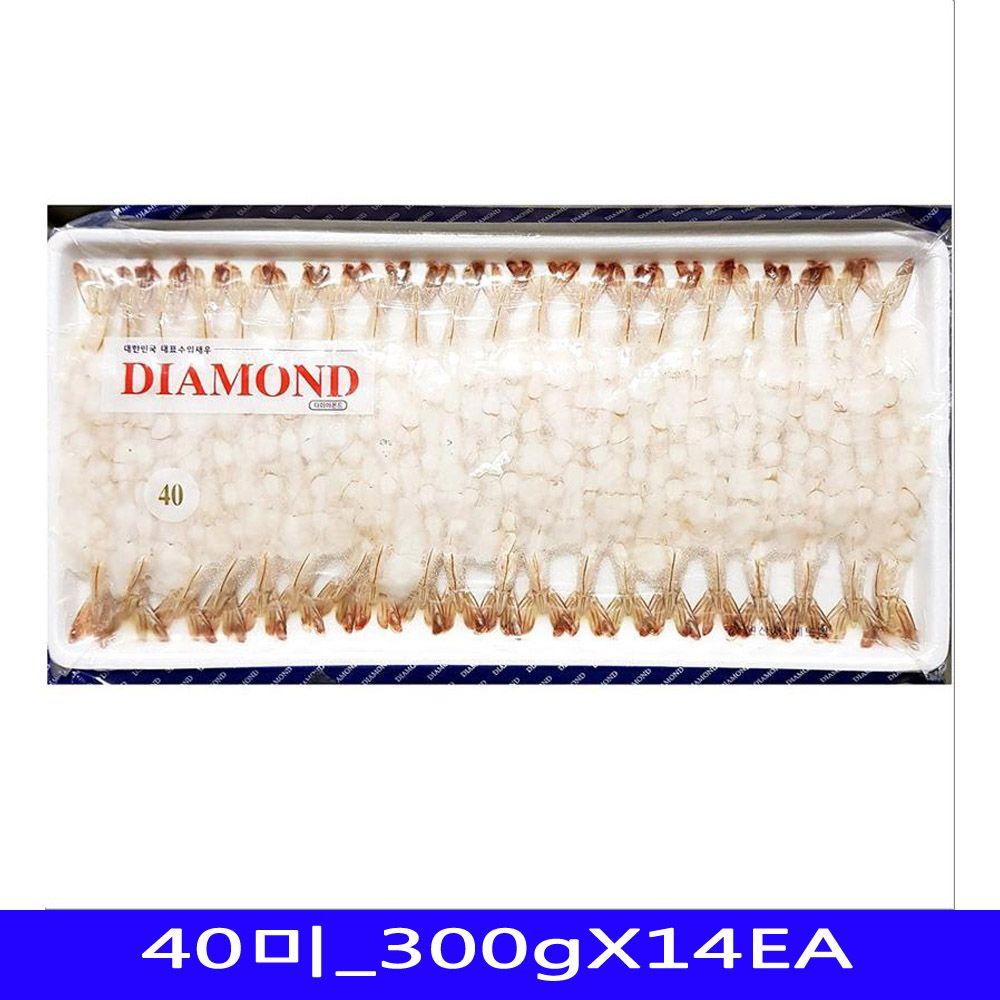 냉동수산물 노바시새우 식재료 KHANH 40미_300gX14EA