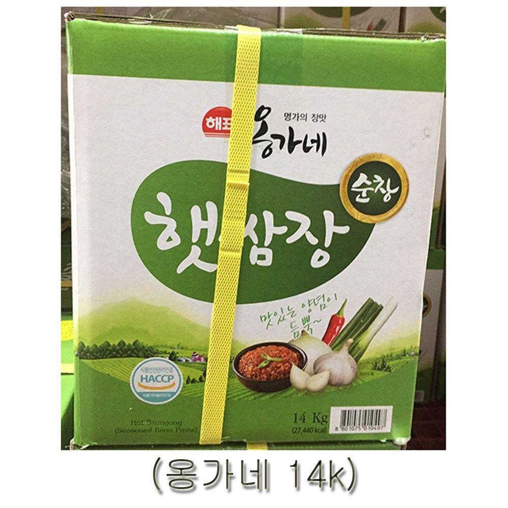옹가네 순창햇쌈장 14kg 가공식품 장류