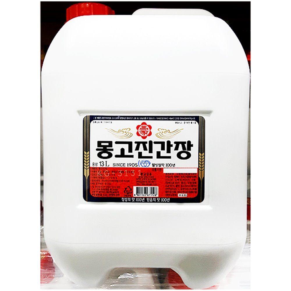 진간장 부천 몽고 13L 식자재 한식 식당용 대용량