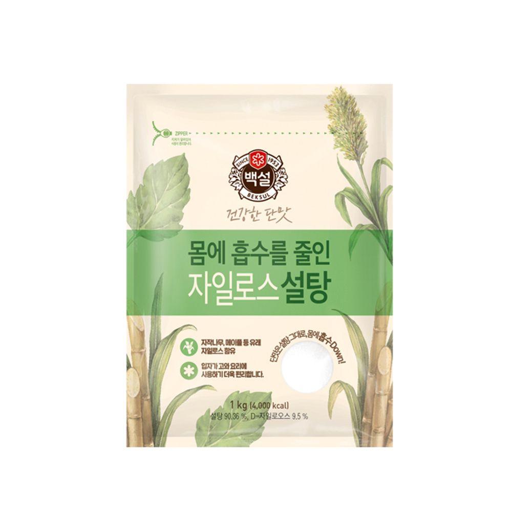 백설 건강한 단맛 자일로스 백설탕1kg/ 커피 차 음료