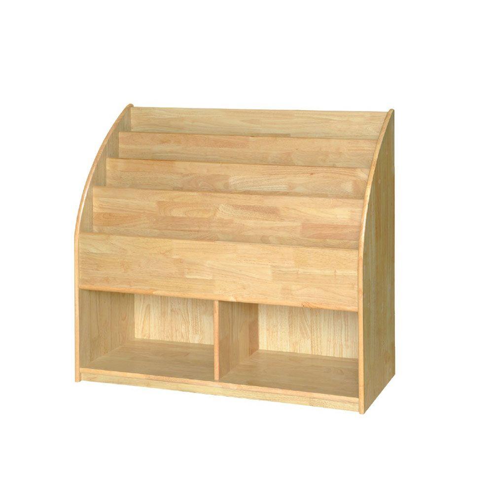 고무나무 유치책꽂이 BR04 책장 의자 책꼿이
