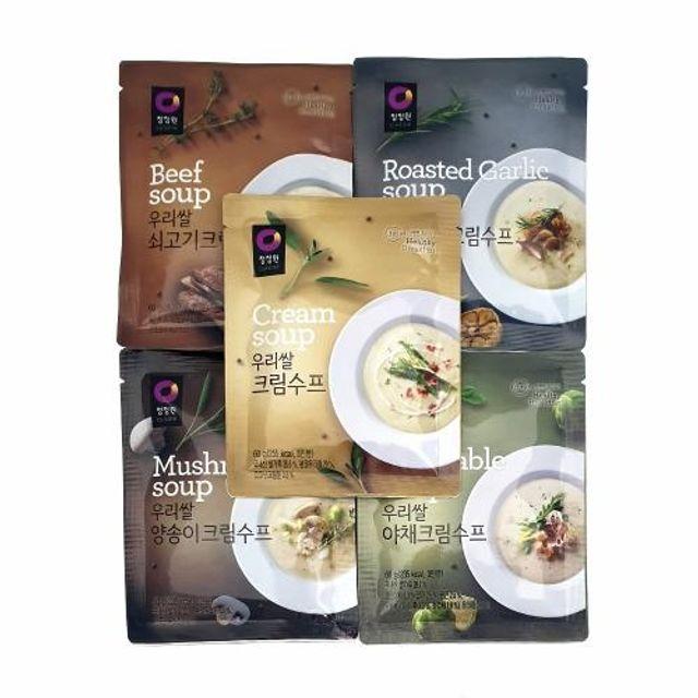 우리쌀 수프 스프 크림수푸 수프