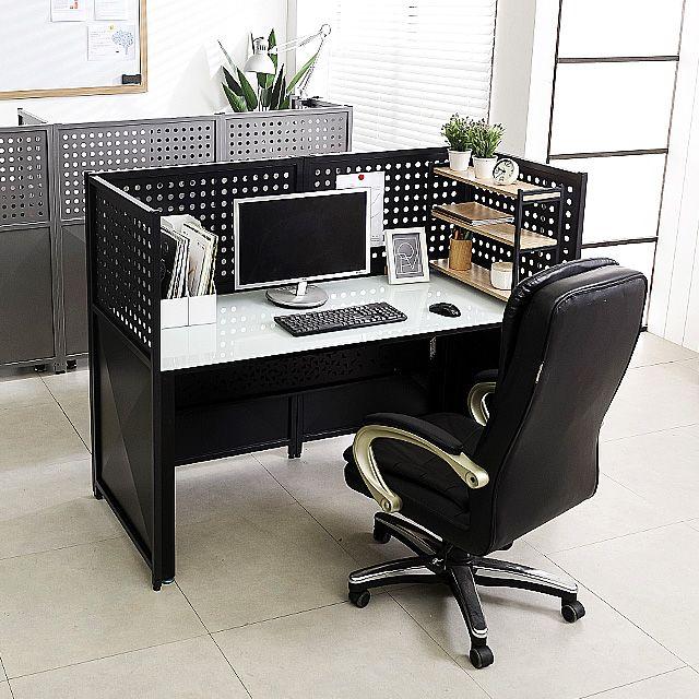스틸 700 파티션 사무실 마름모형 책상