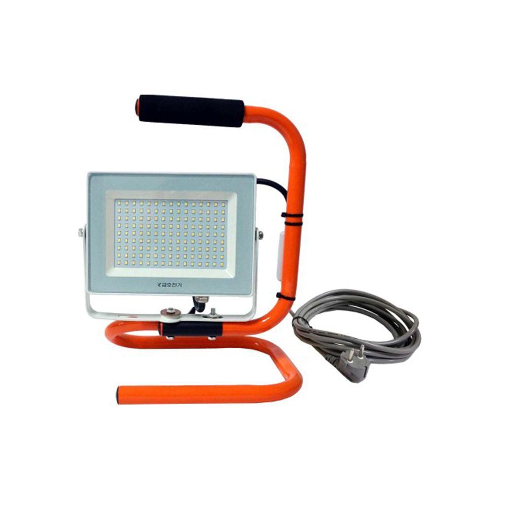 LED 투광기 50w 방수65 공장등 야외 현장 조명 투광등