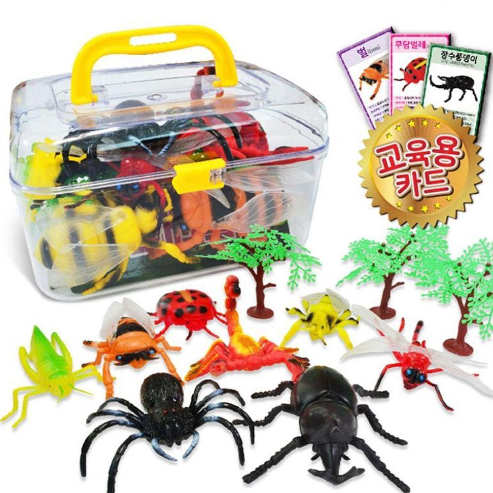 어린이 장난감 인형 피규어 곤충 정글대탐험