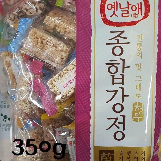옛날애 전통맛 종합강정 350g