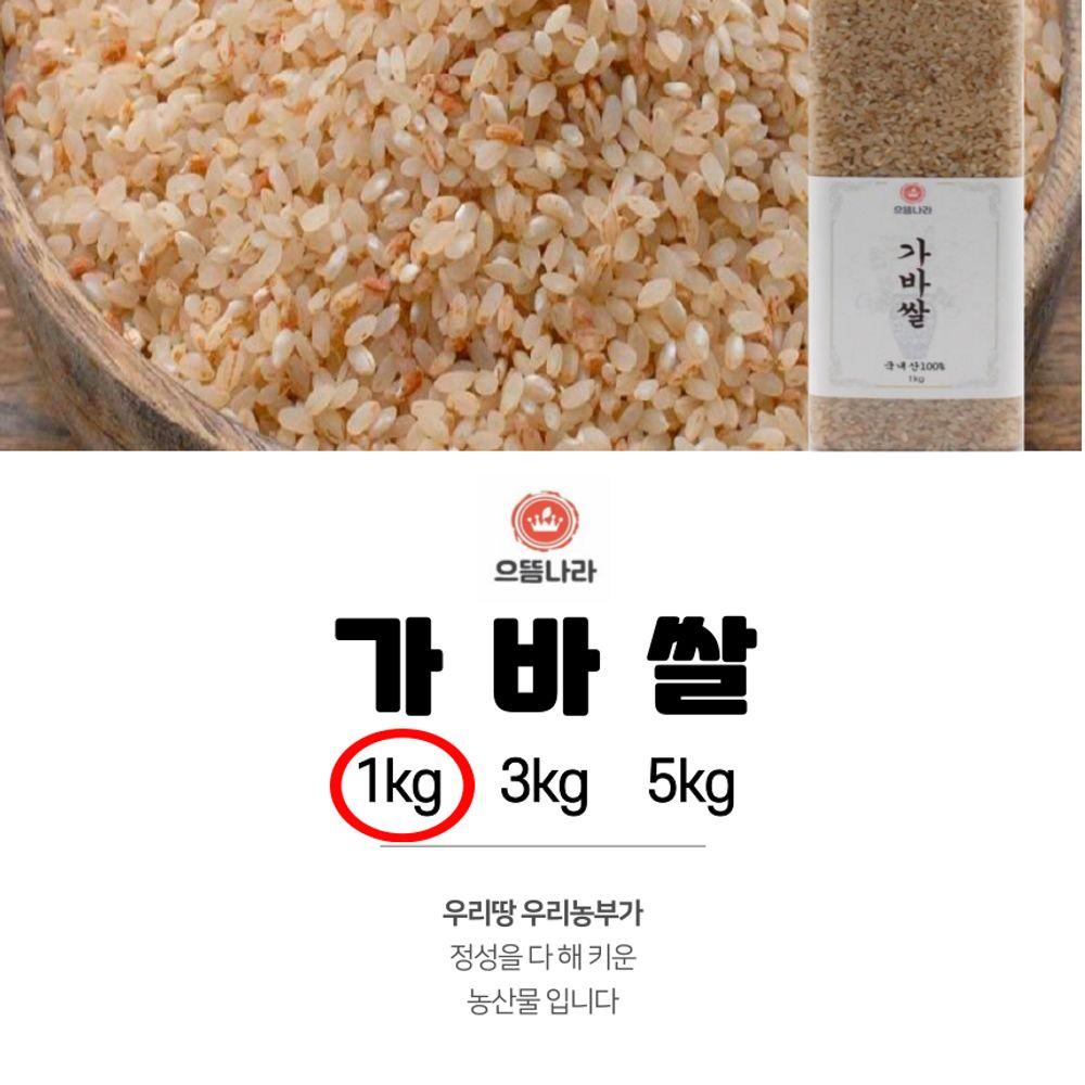 으뜸나라 웰빙 가바쌀 1kg