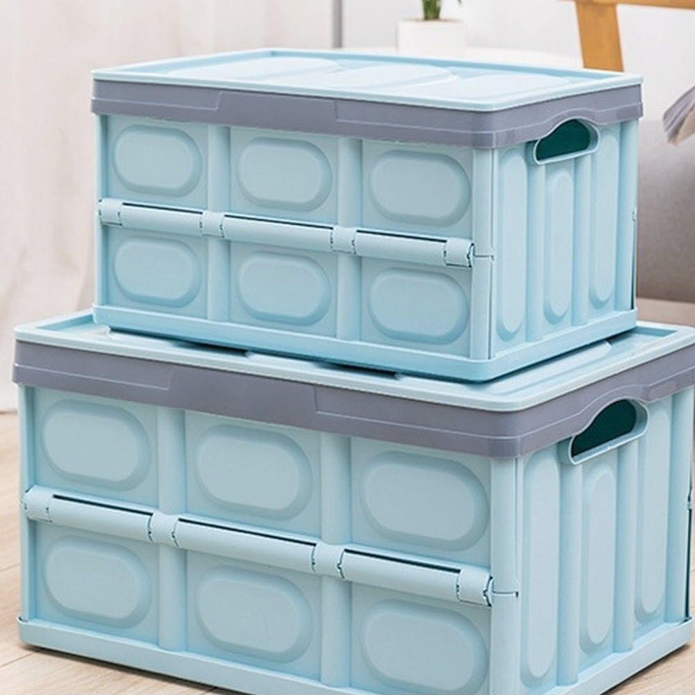 틈새보관 편리한 접이식 플라스틱 폴딩 리빙 박스