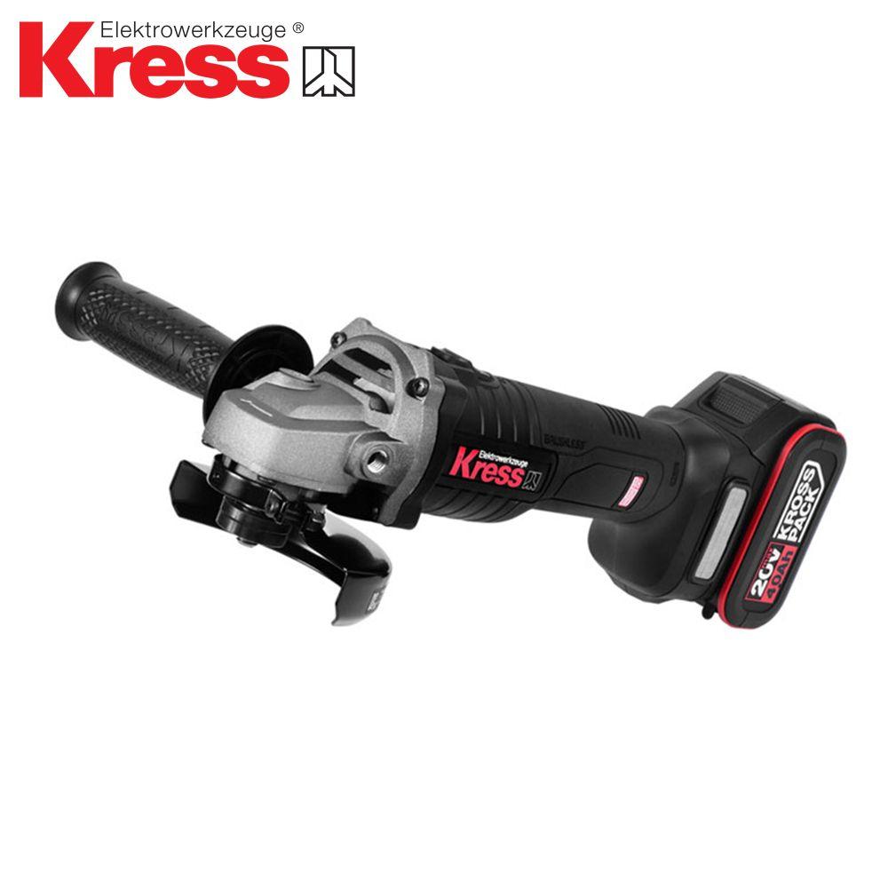 KRESS 크레스 충전그라인더 KU800.2 (20V/4.0AH)