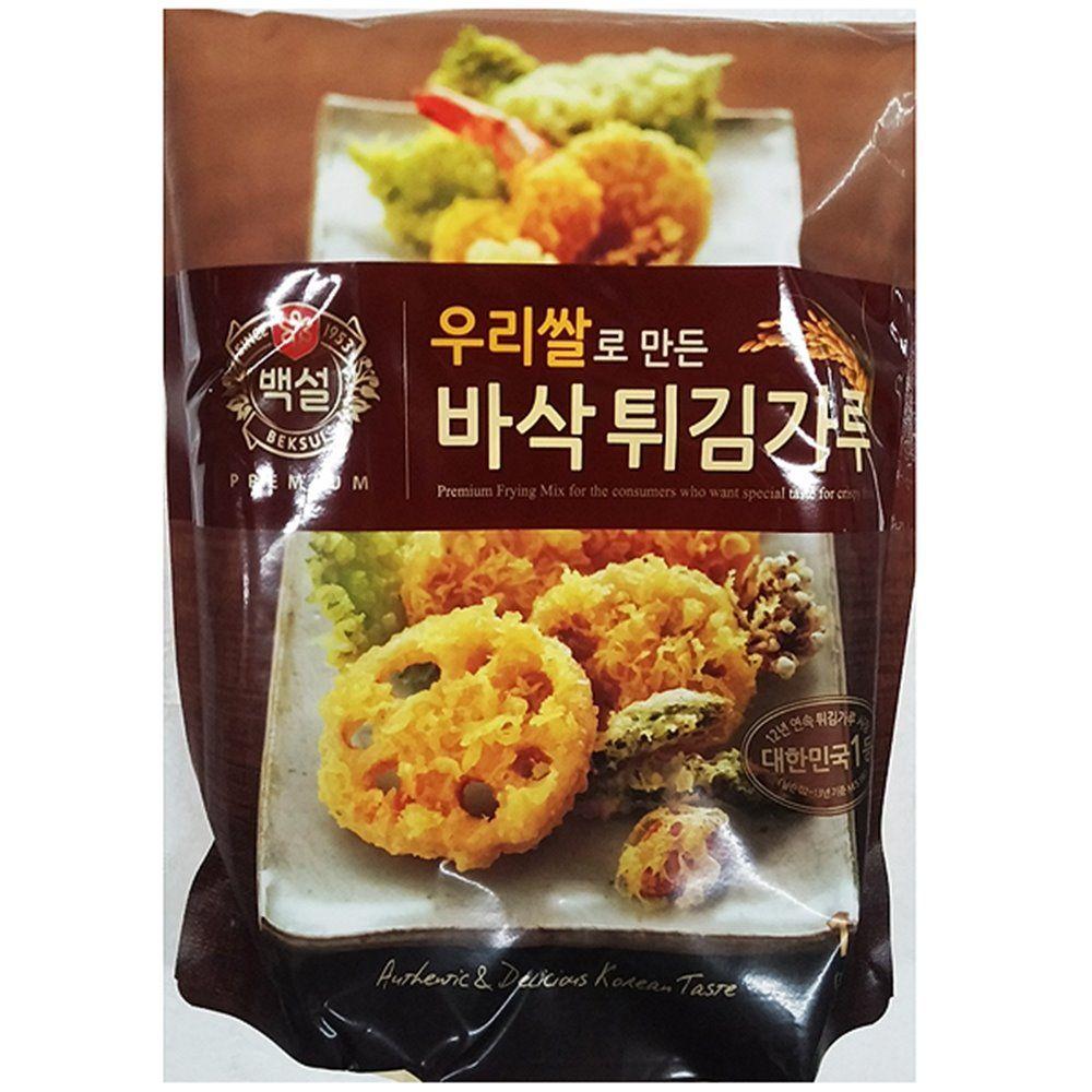식당 업소 식재료 우리쌀 튀김가루(백설 1K)