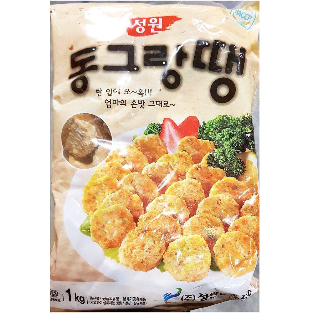 업소용 식당 식자재 재료 성원 동그랑땡 1KgX10