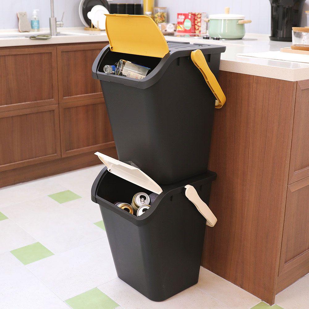 분리수거함 2p/쓰레기 재활용 가정용 쓰레기통 휴지통