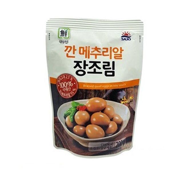 대림 깐메추리알 장조림 200g 5팩