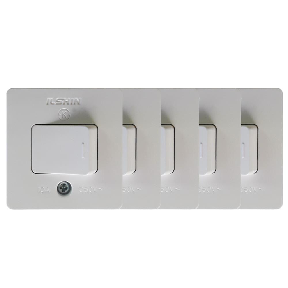 텀블러스위치 전기자재 전원스위치 욕실 인테리어 방