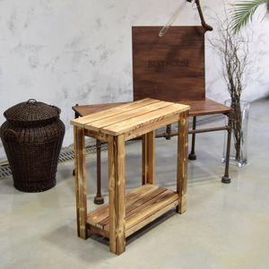 아이티알,NL 원목 화분받침대 겸용 넓은의자 2단 H60x28x60cm