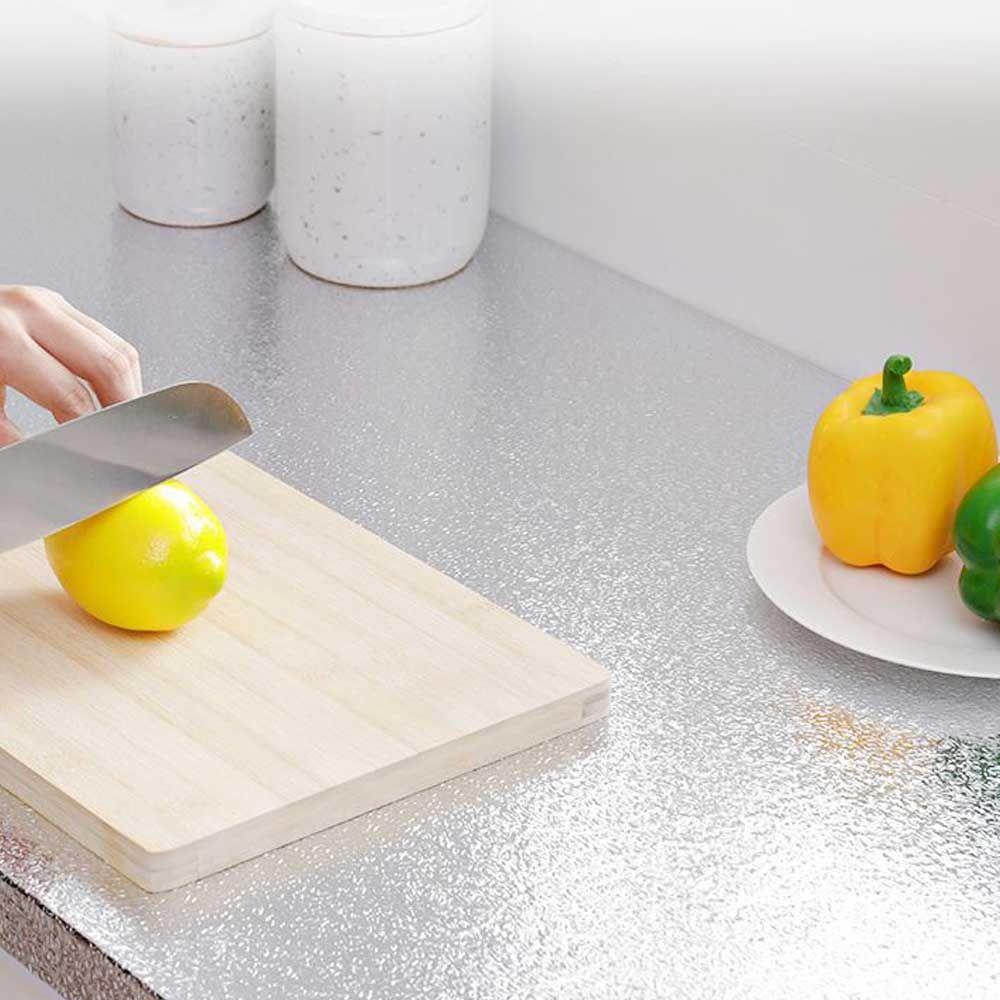 주방 은박 매트 시트지 싱크대 투명 오명 방지 시트