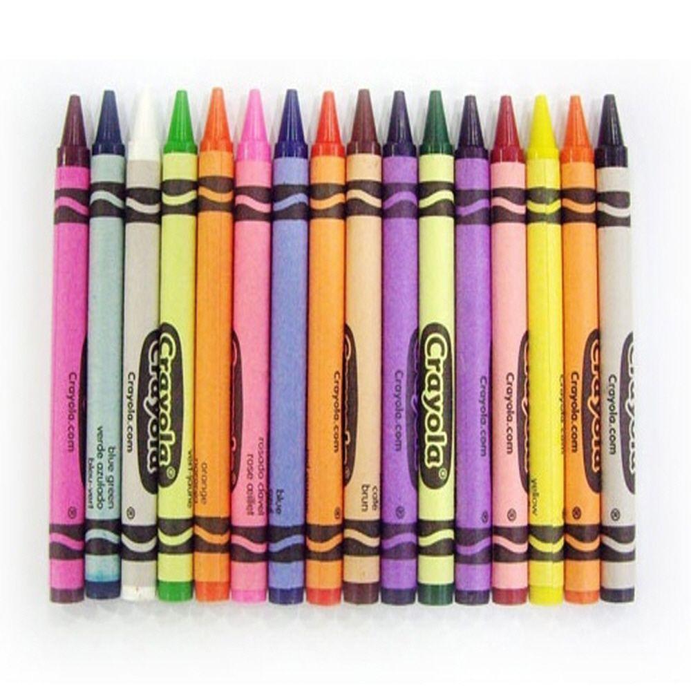 미술 놀이 유치원 색칠 그림 그리기 일반 크레용 16색