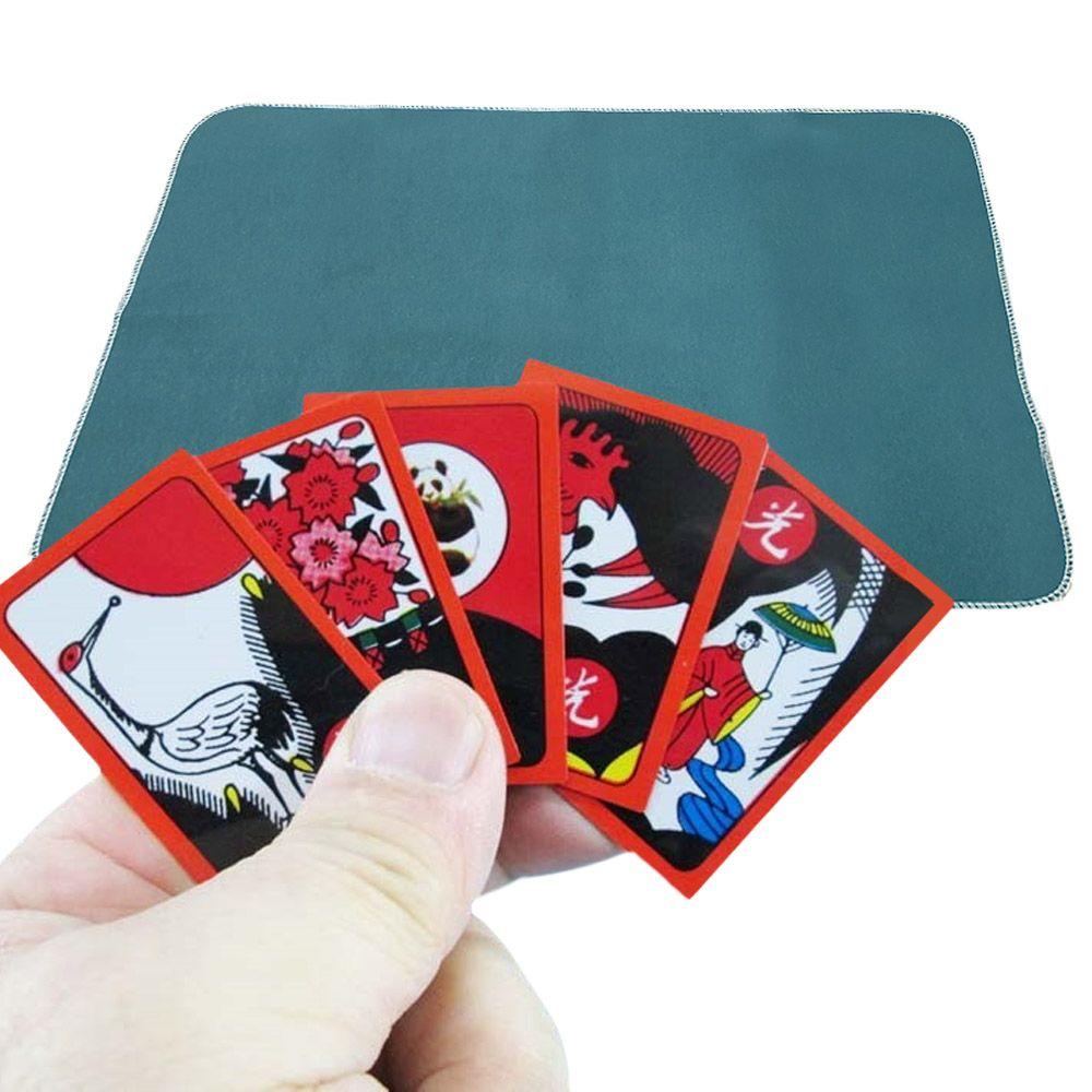 짝 달라붙는 PVC 화투판 놀이방석 매트