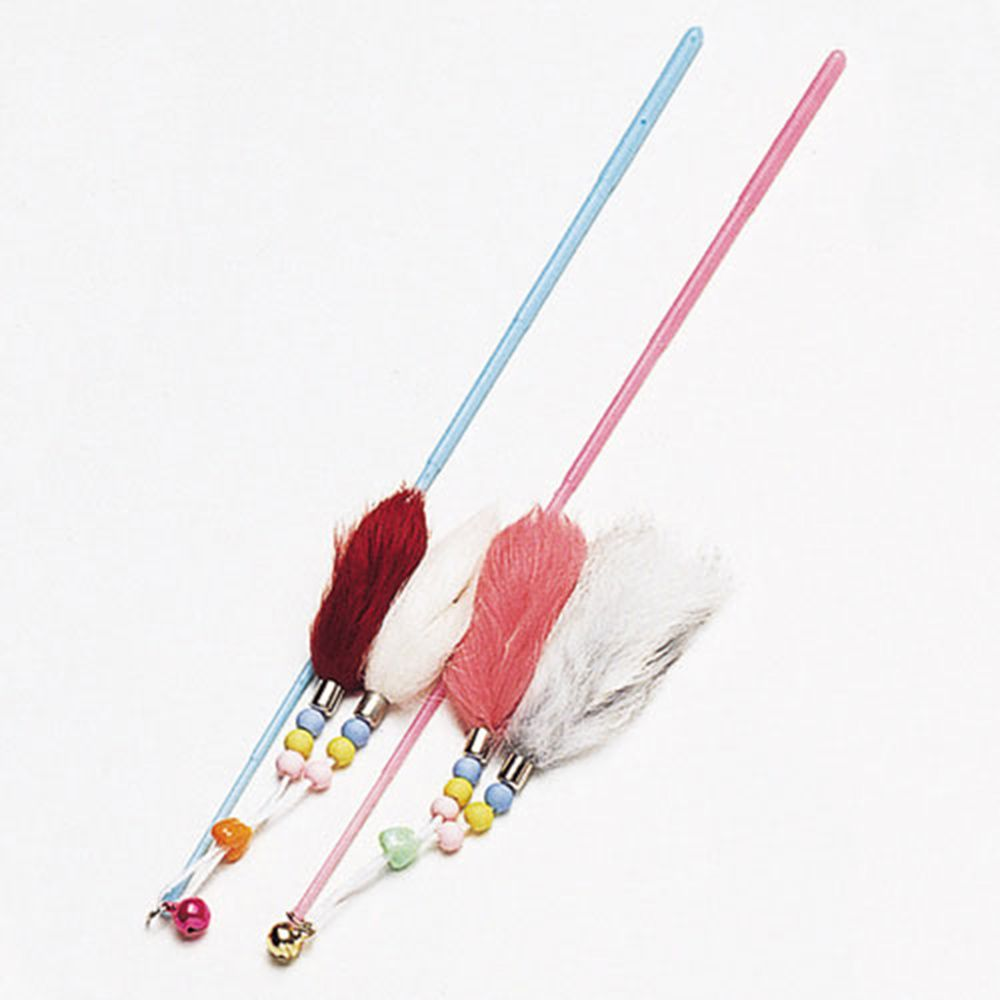 두줄꼬리 색상랜덤 캣토이 장난감 놀이