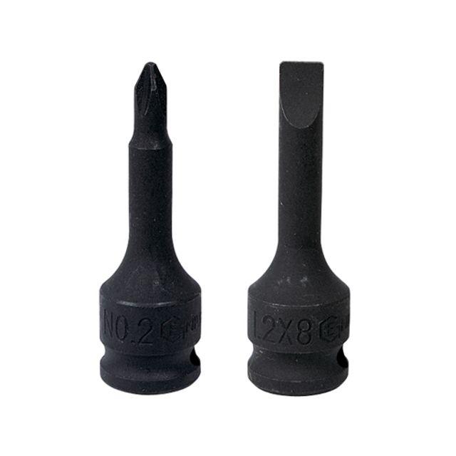 (지니어스) 3/8SQ 드라이버 빗트소켓_1.0x5.5(-)_60L