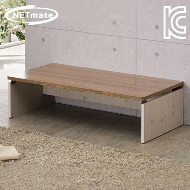 NETmate 좌식 책상 1500x600x320 엔틱 컴퓨터 테이블