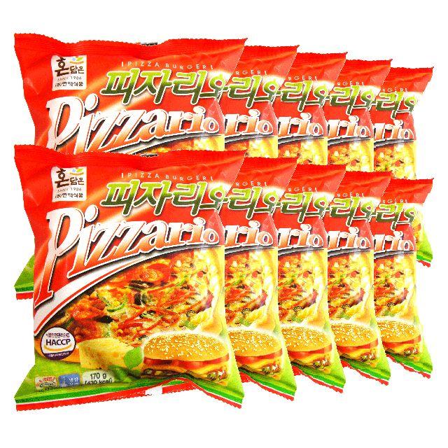 한맥 식품 피자리오 피자벅 햄버거 냉장170gx10개