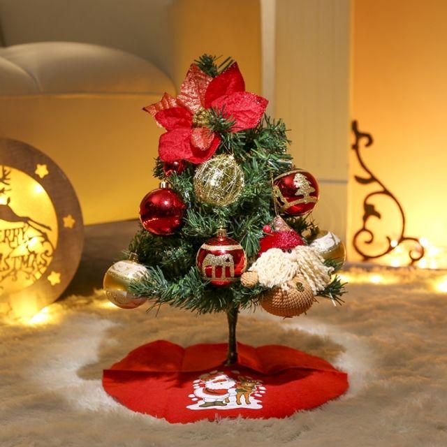 트리 40cm 트윙클 스카치트리 풀세트 장식 크리스마스 인테리어 성탄절 5409F7