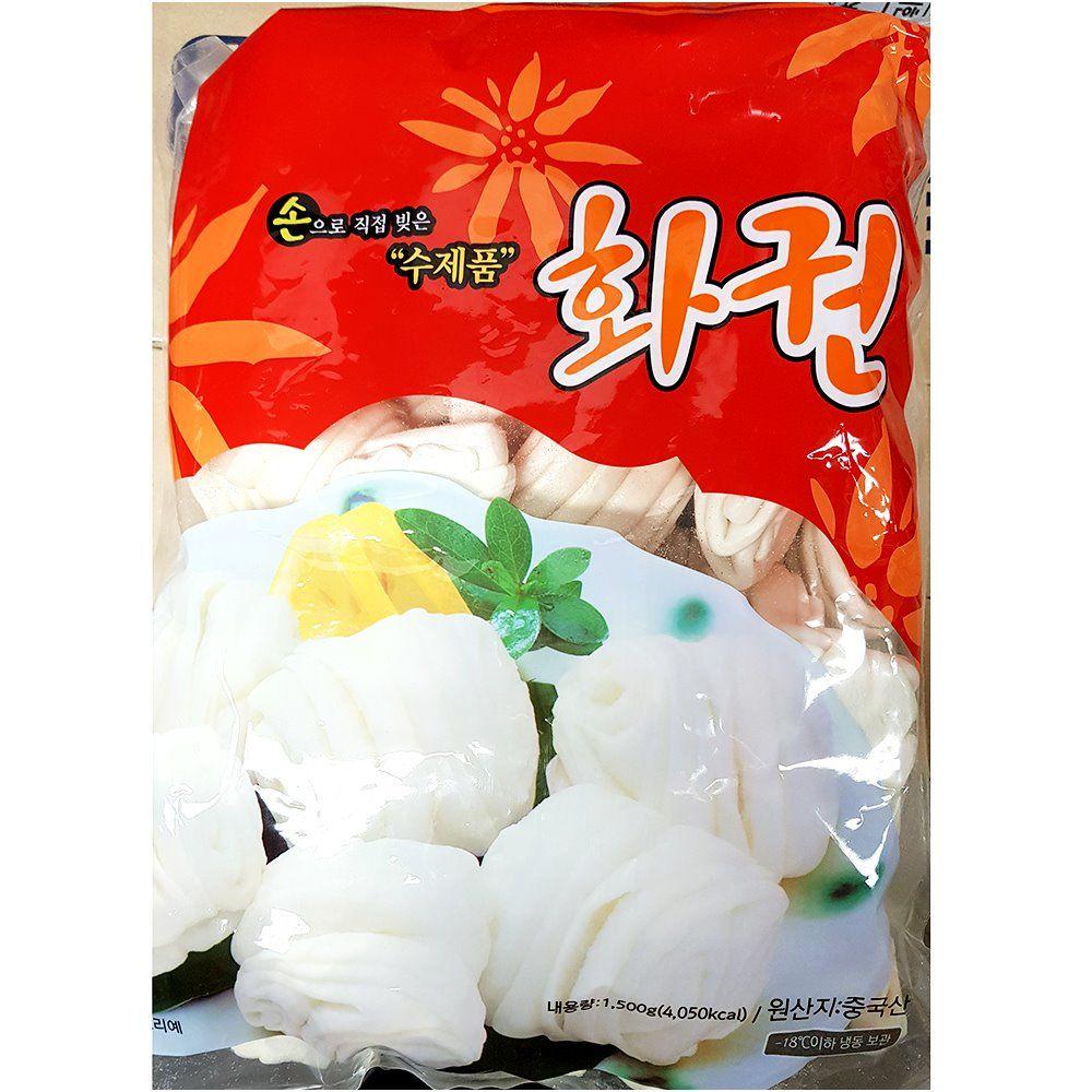 업소용 식당 식자재 꽃빵 수제화권 1.5kgX4 냉동보관