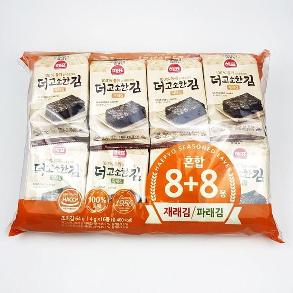 IN820 더 고소한 혼합김 16봉