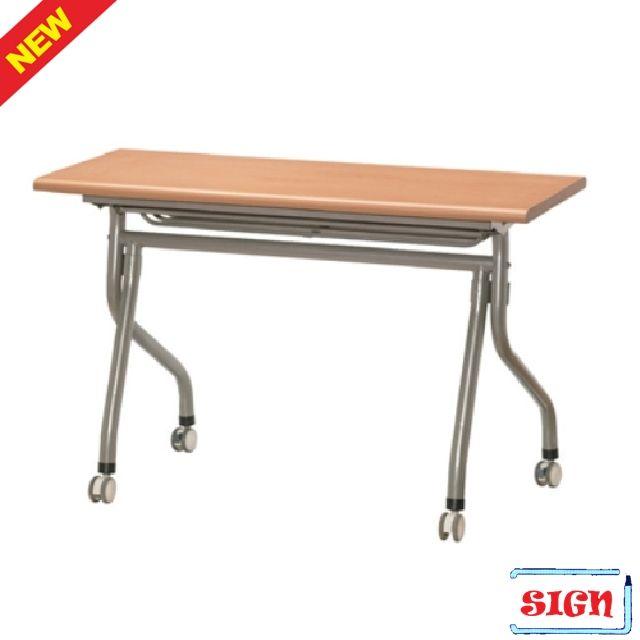Y형 연수용 테이블 가림판무 1800x450 월넛