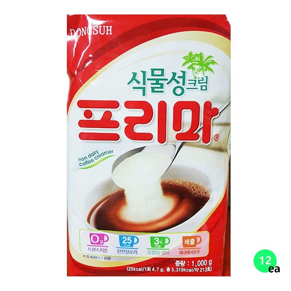 동서 프리마 커피프리마 커피프림 가정용 1KX12