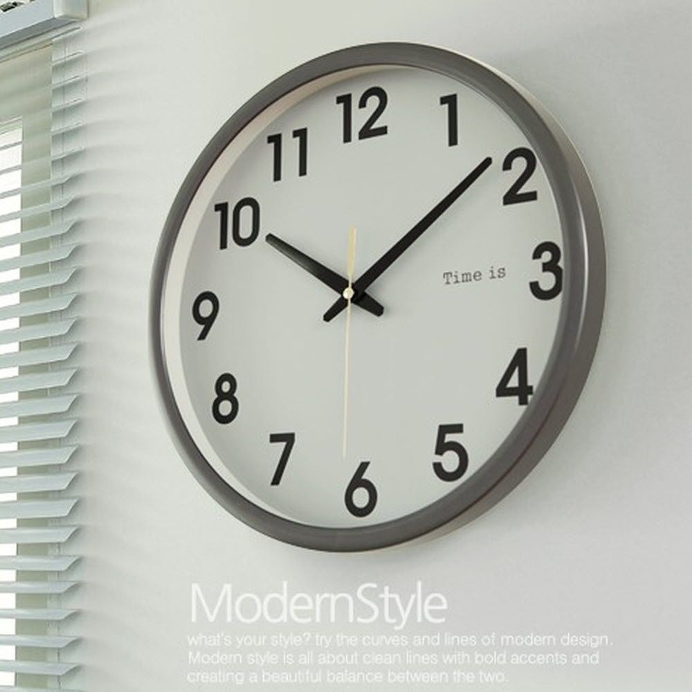 심플한 실내 인테리어 소품 벽걸이 선물 심플 시계