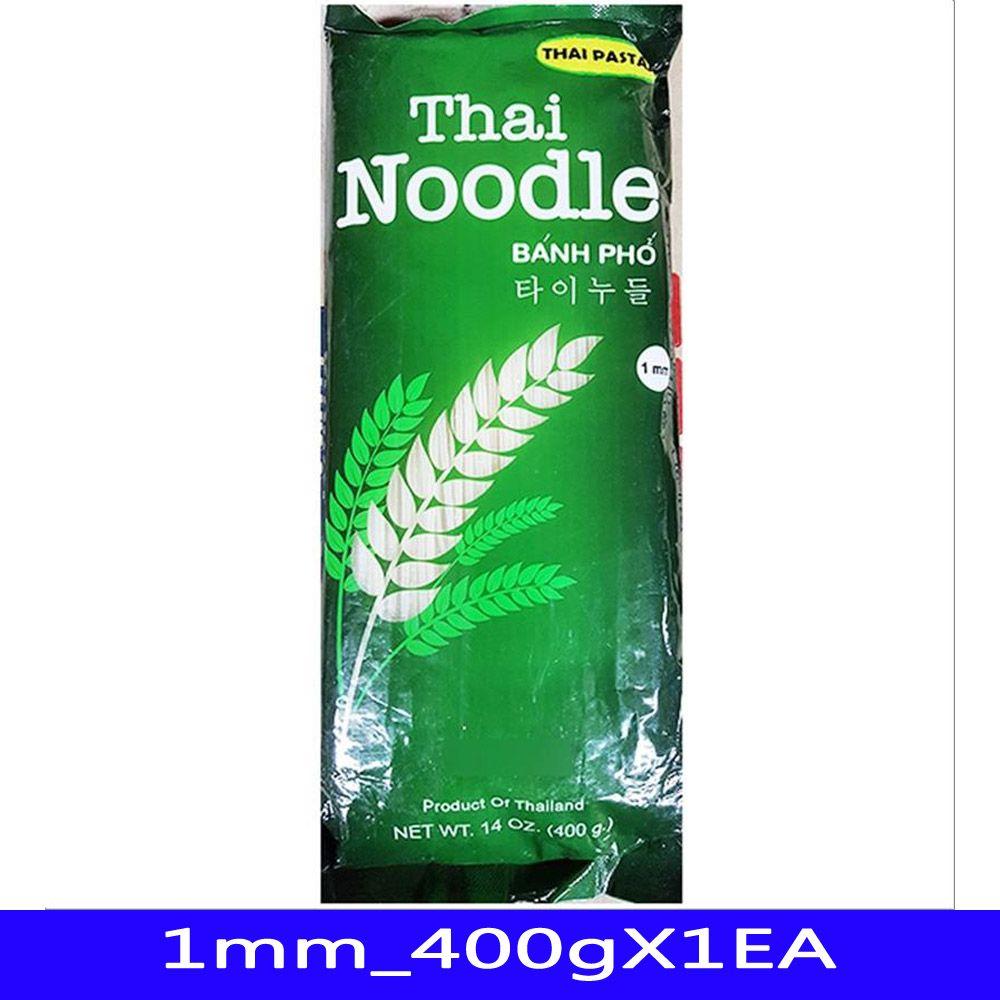 타이누들 쌀국수 동남아식재료 코만 1mm_400gX1EA