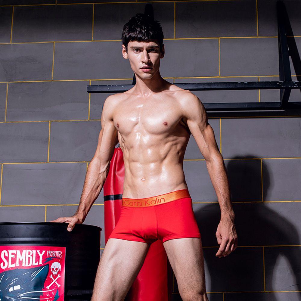 [더산직구]남성 남자 언더웨어 신상 속옷 레드 빨간 팬티 드로즈/ 배송기간 영업일기준 7~15일