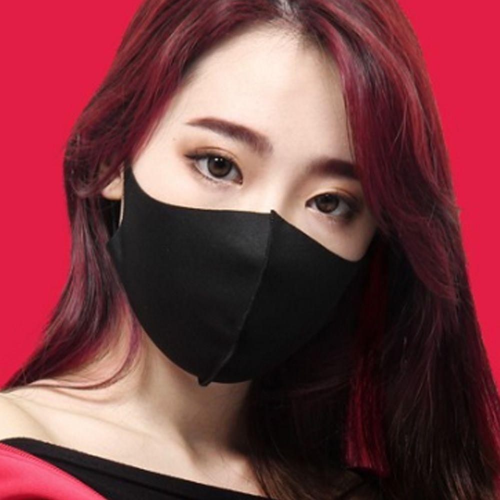패션 연애인 마스크 남녀공용 검정 안면보호 성인용