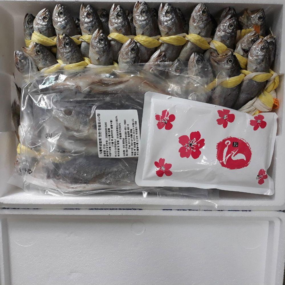 법성포굴비_ 햇조기 60마리(3.6kg) + 민어 5마리세트