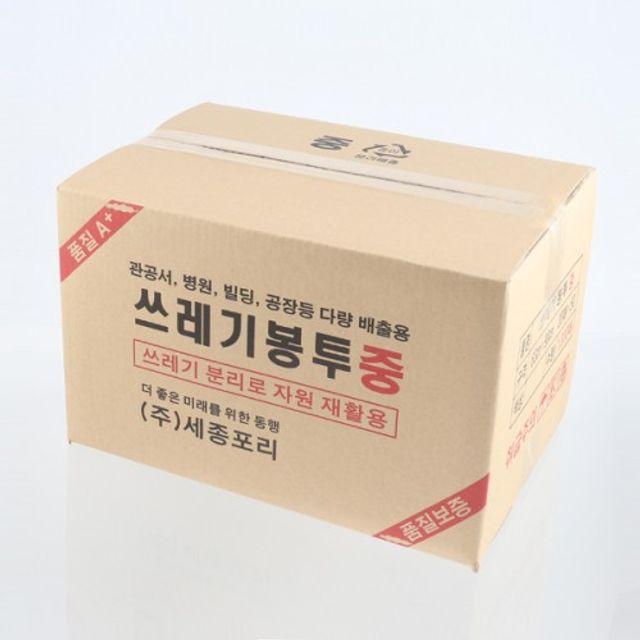 배접형 쓰레기봉투 중형 1000매입 선택구매