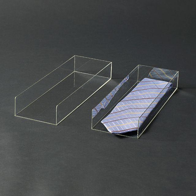 아크릴 사각 진열대 넥타이 액세서리 장식 디피용