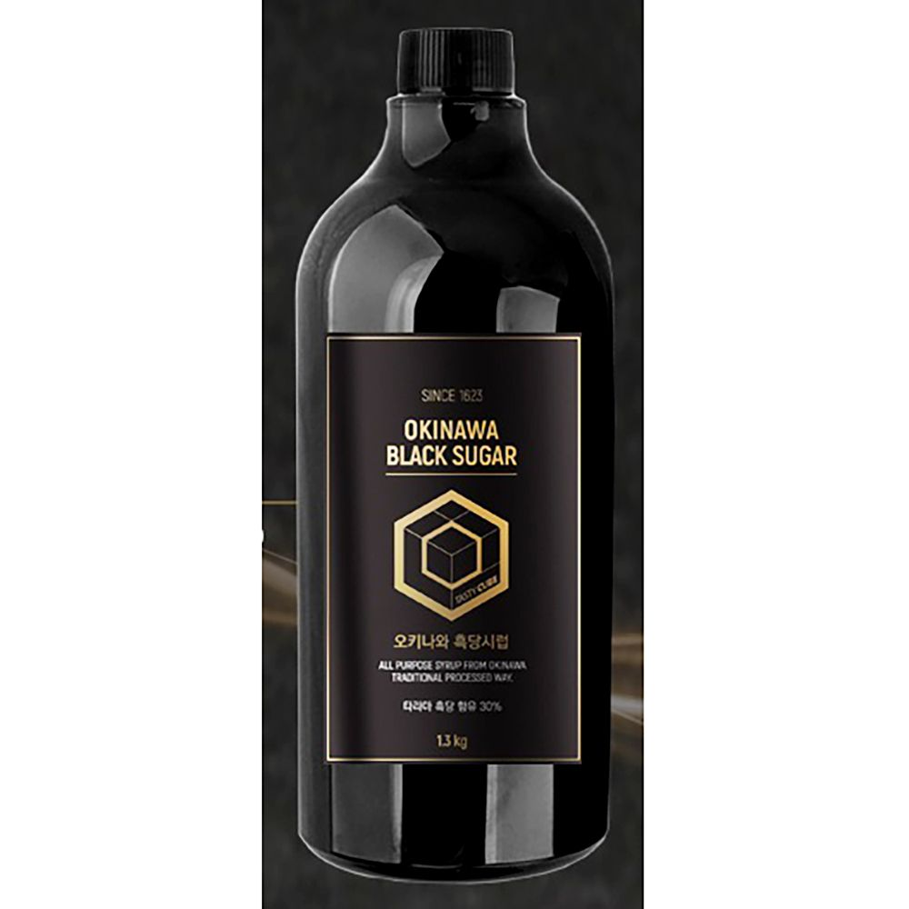 테이스티큐브 오키나와 흑당 시럽 x6개 식자재 액상