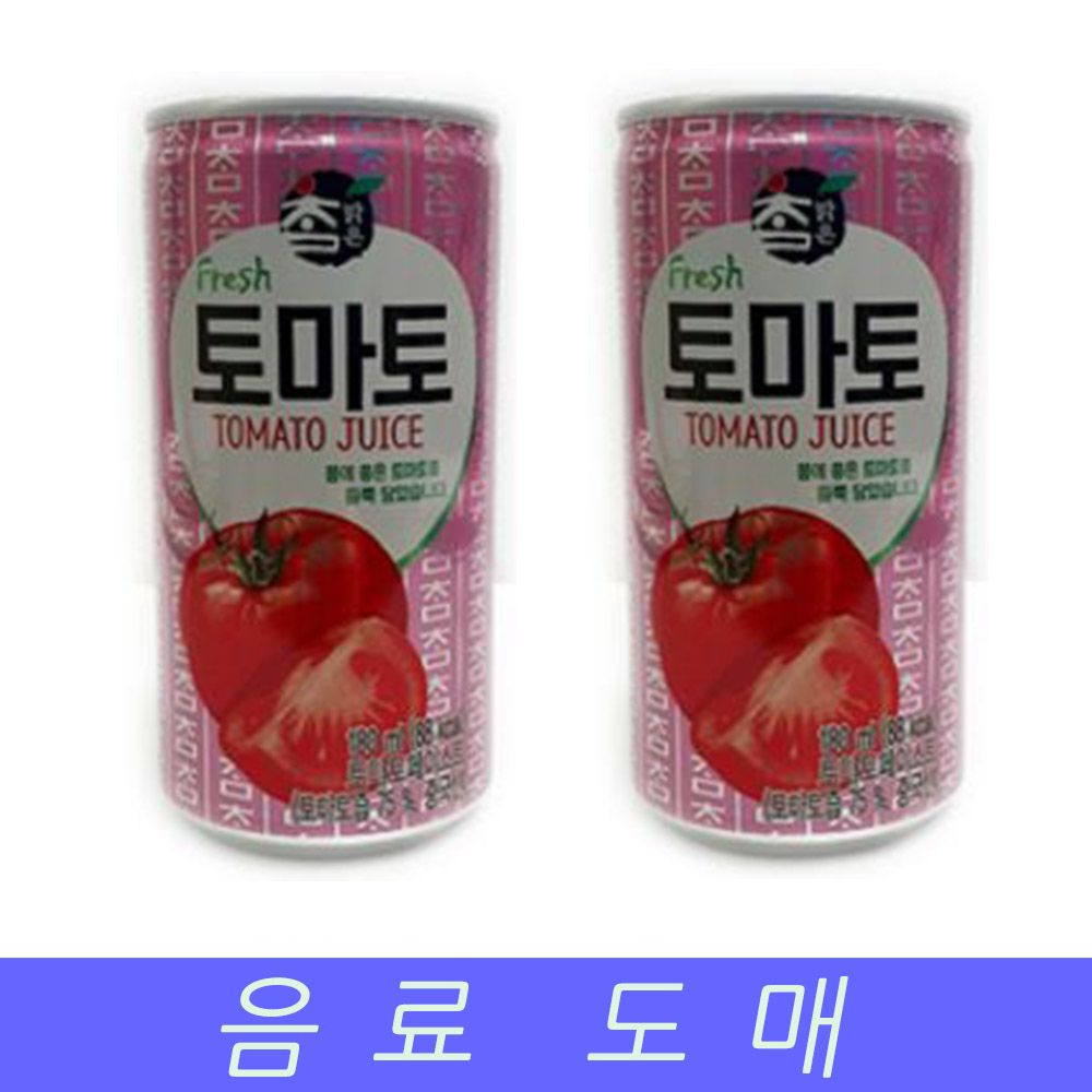 대일 음료수 도매 미니 캔음료 토마토 175MLX30EA