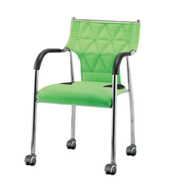 오피스의자 바퀴 의자 회의실 의자 다용도의자 그린