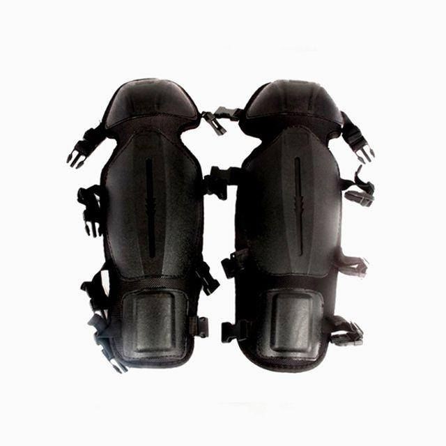 예초기 작업용 무릎 보호대 검정색 고급형